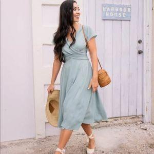 NEW • Gal Meets Glam • Crisscross Bodice Dress 4